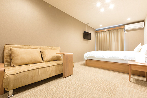 グループで運営する京都のホテルの内装画像